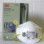3M Double-Strap Dust Mask(N95), Box of 20