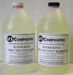 1 Gallon Total Kit Kleer Kote Table Top Epoxy