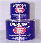 Evercoat Polyester Glazing Putty, 35oz (includes small blue hardener)